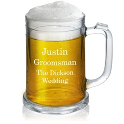 16 Ounce Personalized Beer Mug