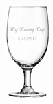 Personalized Stemmed Glass