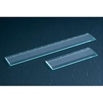 Engravable 6 or 12 inch Glass Ruler