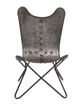 Osoyoos Metal Stitched Chair