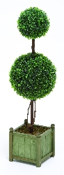 Ella Green Decorative Topiary in Planter 35x10