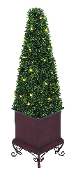 Daniel Artificial Led Boxwood (Large)
