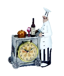 Addison Chef Wall Clock