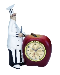 Carter Chef Wall Clock