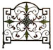 Peyton Tuscan Single Panel Fireplace Screen