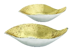 Monticello Vibrant Gold Bowl III Set/2