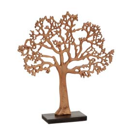 St. Regis Copper Tree of Life Table Accent