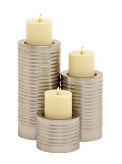 Carachang Metal Candle Holder Set/3