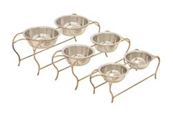 Curton Metal Dog Feeder Set/3