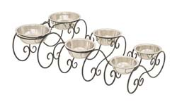 Bages Metal Dog Feeder Set/3