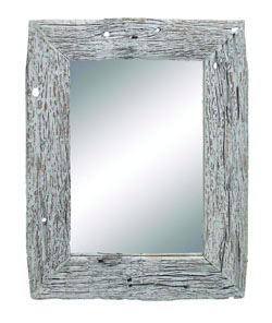 Dylan Rectangle Reclaimed Wood Wall Mirror