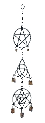 Callie Abstract Patterns Wind Chime