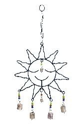 Eric Sun Face Wind Chime