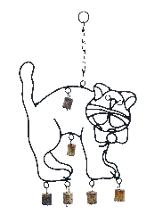 Arabella Cute Cat Wind Chime