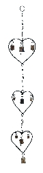Summer Heart Wind Chime