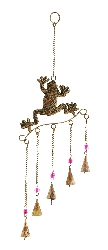 Emerson Copper Frog Wind Chime