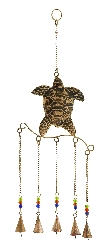 Theo Copper Turtle Wind Chime