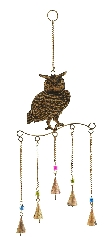 Cayden Beaded Owl Wind Chime