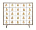 Lola Bells Single Panel Fireplace Screen