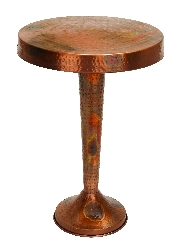 Parker Vintage Inspired Copper Accent Table