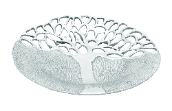Presley Round Tree of Life Tray