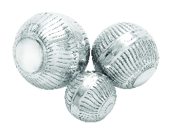 Joey Aluminum Decor Ball Set 3