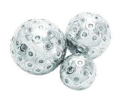 Lena Set 3 Decor Ball Accented