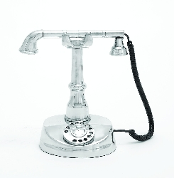 Brooks Aluminum Telephone Decor