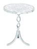 Zara Transparent Glass Accent Table