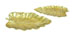 Cash Gold Leaf Table Centerpiece Tray Set 2