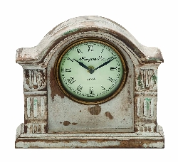 Teddy Traditional Wood Mantle Clock