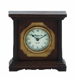 Destiny Cherry Finish Wood Table Clock