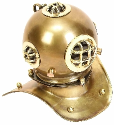 Jaylen Brass Nautical Diving Helmet