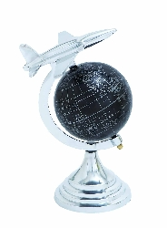 Chelsea Globe Atlas With Airplane Accent