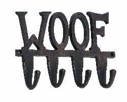"Margaret"" Woof"" Wall Hook"