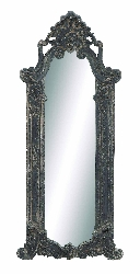Orion Gothic Wood Wall Mirror
