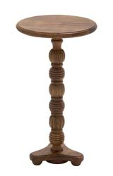 Wallach Wood Pedestal Table