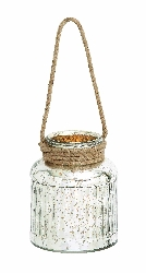 Sibongile Glass Rope Lantern