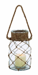 Siham Glass Rope Lantern