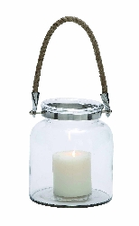 Torfavan Roped Candle Lantern