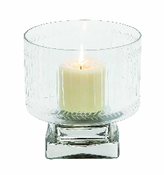 Tariq Glass Candle Holder
