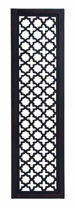 Dillon Architectural Black & White Wood Wall Panel 72x20