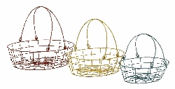 Dunkin Oval Basket Caddy Set/3