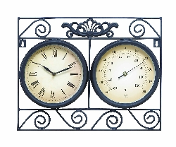Chandler Outdoor Clock & Thermometer