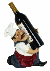 Jimmy Chef Wine Bottle Holder
