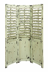 Beatrice Shabby Chic 3 Panel Room Divider Screen
