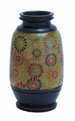 Leona Multicolored Pots with Floral Motifs
