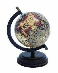 Winter Wood Globe Atlas