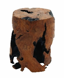 Abdul Wood Stool