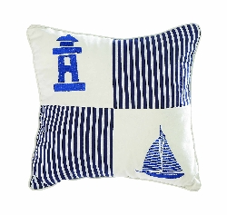 Aniya Nautical Square Pillow